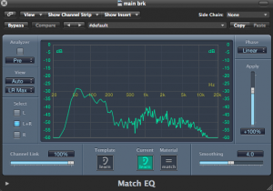 Logic Tips - Match EQ